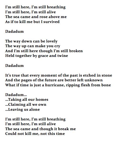 I'm Still Here lyrics