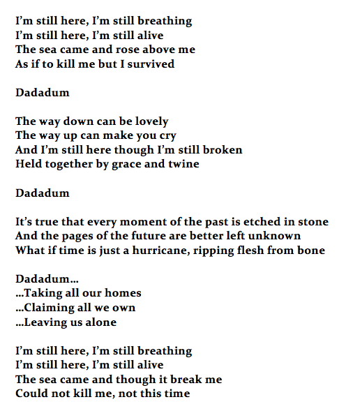 I'm Still Here lyrics